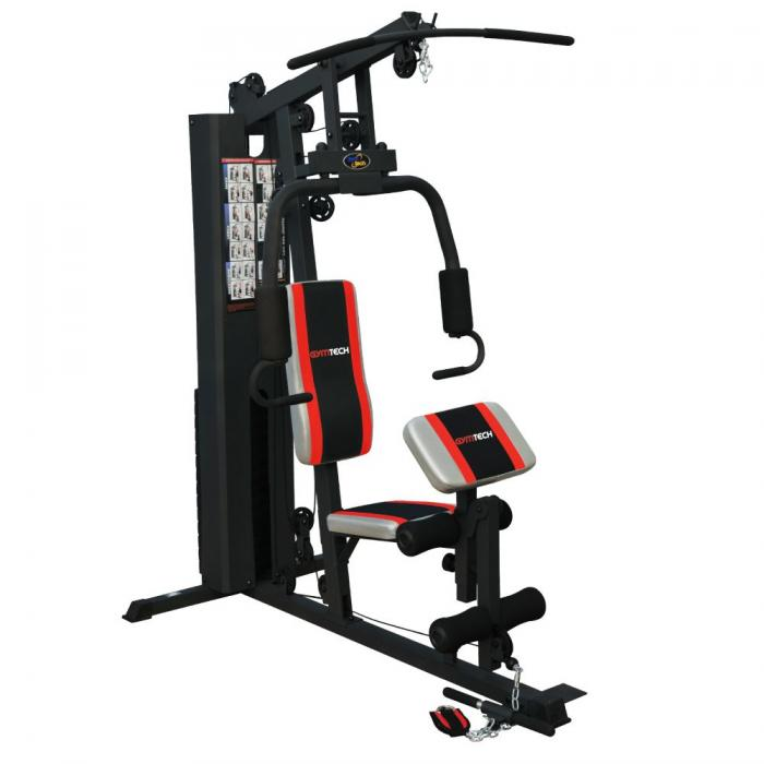 powertrain home gym instructions